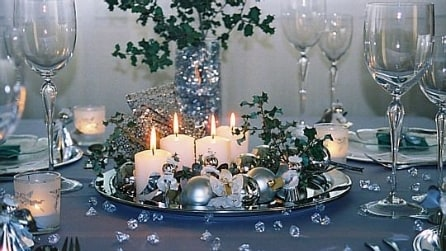 I colori di tendenza per apparecchiare la tavola di Natale 2015
