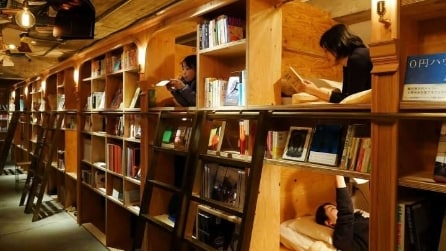 Book and Bed Hotel: ecco come dormire dentro una libreria