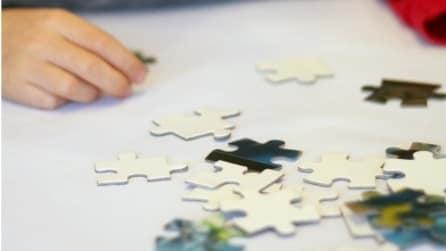 Come decorare casa per Natale con i pezzi di puzzle