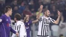 Le immagini di Juve-Fiorentina
