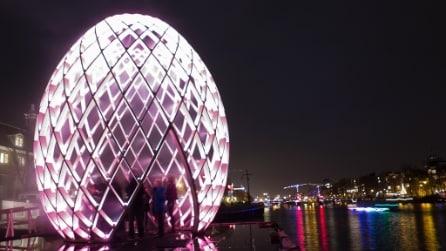 La magia del festival delle luci di Amsterdam