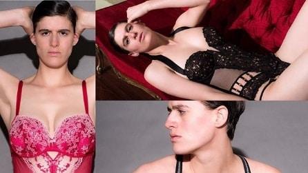 """Rain Dove, la prima transgender che """"sfida"""" gli angeli Victoria's Secret"""