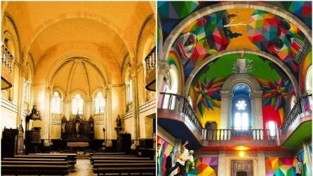 Da chiesa abbandonata a skatepark pubblico: la trasformazione è incredibile