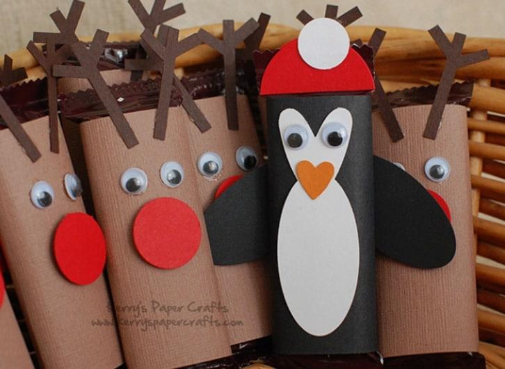 Fonte Immagini: http://www.kerryspapercrafts.com/craft-fair-goodies-mini-reindeer-a-penguin/