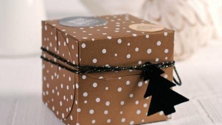 Pacchetti per tutti gli stili: ecco alcune idee per regali di Natale fai da te