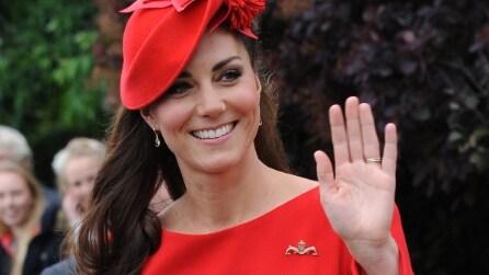 Kate Middleton è ancora la regina del riciclo: ha sfoggiato l'abito del 2012
