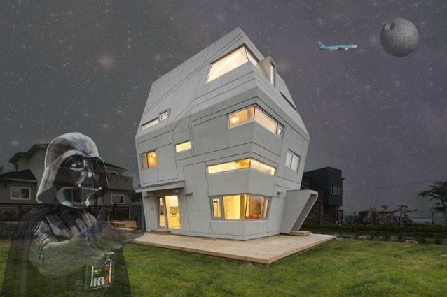 Sembra proprio che il Risveglio della Forza sia passato per la Sud Corea dove lo studio di architettura Moon Hoon ha realizzato una casa familiare evidentemente ispirata alla Morte Nera di Guerre Stellari.