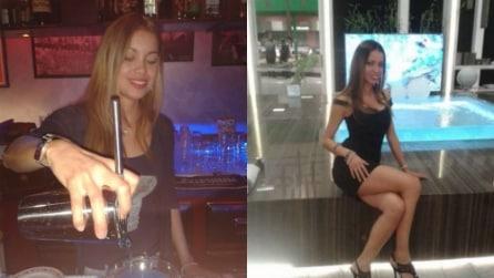 Da barista a fotomodella, il sexy-calendario di Sandra Gomez