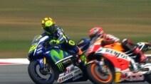 MotoGp, Rossi-Marquez: l'incidente di Sepang