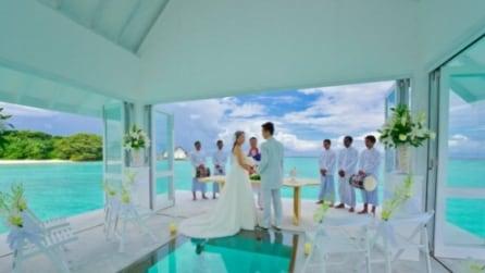Il resort alle Maldive per organizzare un matrimonio da sogno
