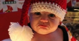 Le foto più divertenti scattate a Natale