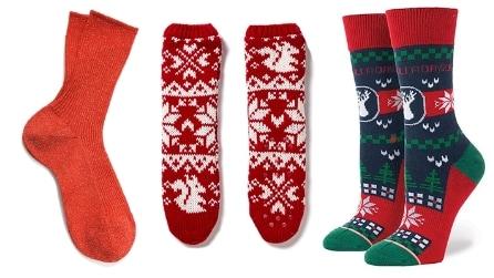 9 calzini originali da indossare a Natale