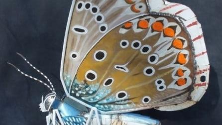 Se il metallo diventa un'ala di farfalla: le opere d'arte che vi incanteranno