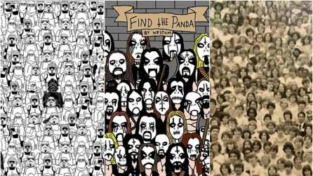 Quanto tempo impieghi a trovare il panda?
