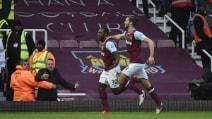 Il West Ham 'martella' il Liverpool