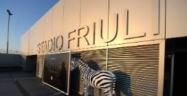 Udinese, il nuovo stadio Friuli completato per la Juventus