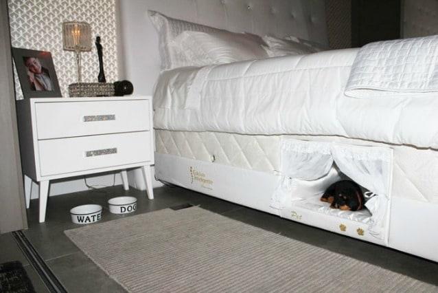 Letto Matrimoniale Con Cuccia.Una Cuccia Nel Letto Ecco L Invenzione Per Dormire Col Proprio Cane