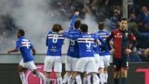 Serie A, Genoa-Sampdoria 2-3