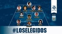 La miglior formazione di sempre della Nazionale Argentina