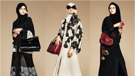 La collezione di veli e tuniche per donne mussulmane firmata Dolce&Gabbana
