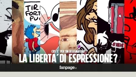 Cos'è per un disegnatore la libertà di espressione?