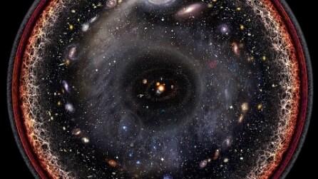 Tutto l'universo in una sola foto: l'affascinante riproduzione
