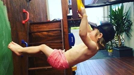 Dash, il bambino che a soli 3 anni ha già i muscoli