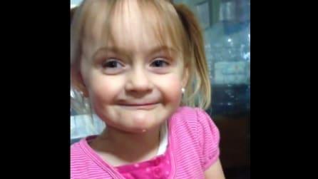 Trucca la nipote di 3 anni: l'incredibile trasformazione della bimba
