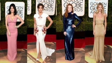 I look dei Golden Globe 2016: chi ha vestito le star sul red carpet