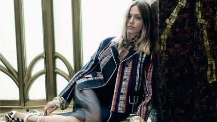 La nuova collezione Prada reinterpreta le mode del passato