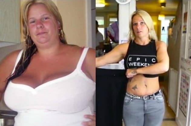 Il confronto prima e dopo