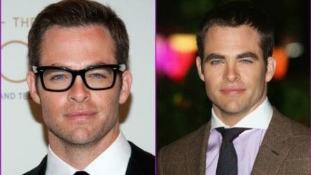 9 bellissimi: meglio con o senza occhiali?