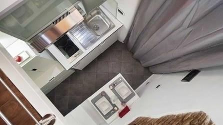 La casa più piccola d'Italia dove c'è tutto in soli 7 mq