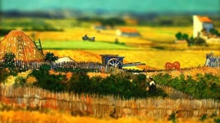 I quadri di Van Gogh come non li avete mai visti prima d'ora