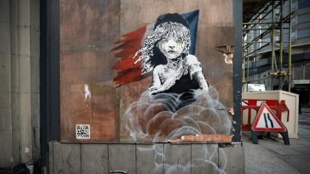 Ecco l'ultimo graffito di Banksy a Londra