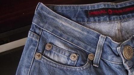 L'utilità della taschina laterale dei jeans