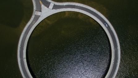 La mega rotatoria sulla laguna: ecco il ponte circolare