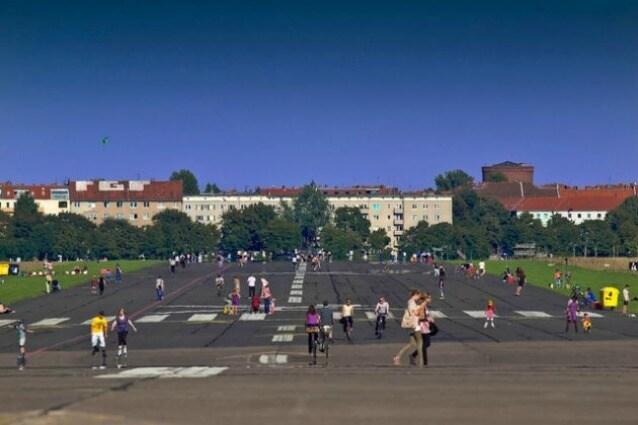 Il Berlin Tempelhof Airport era l'aeroporto cittadino troppo vicino al centro abitato e causa di troppi rumori per i cittadini i quali, dopo la dismissione, hanno lottato affinché diventasse un parco pubblico per la comunità.