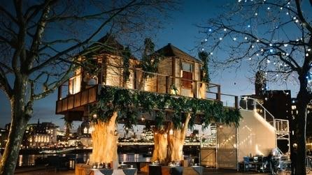 Vivere in una casa sull'albero al centro di Londra