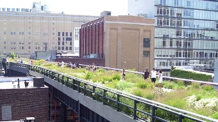 High Line di New York, il parco sospeso su una vecchia ferrovia