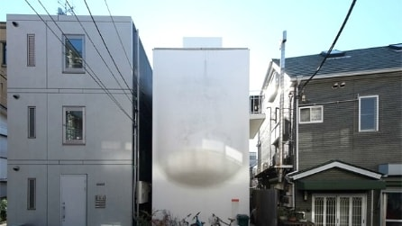Illusione ottica o realtà? Ecco la casa di Tokyo con la pancia