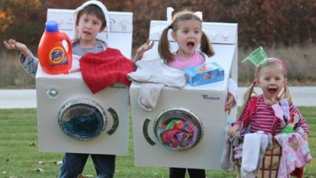 11 costumi di carnevale last minute con gli scatoloni di cartone