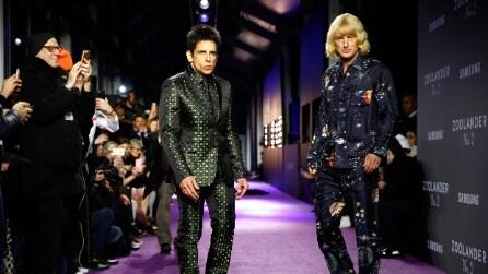 """L'anteprima di """"Zoolander 2"""" si trasforma in un evento di moda"""