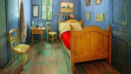 L'artista ricrea la stanza di Van Gogh e la mette in affitto su Airbnb