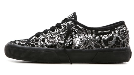 Superga: la nuova collezione di sneakers in pizzo