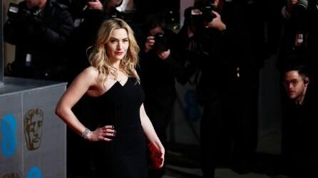 Kate Winslet incanta il pubblico ai Bafta