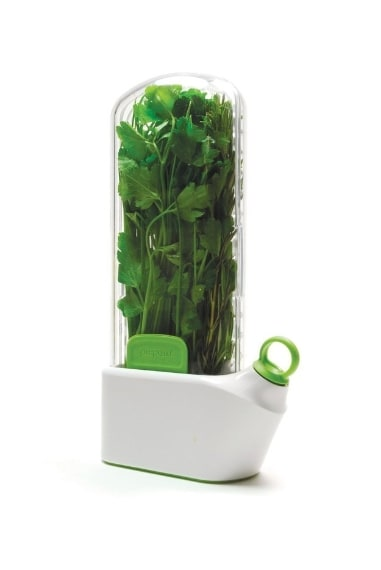 Aiuta a mantenere la verdura fresca più a lungo.