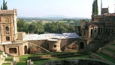 La Scarzuola, il borgo italiano che sembra un quadro di Escher