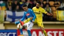 Europa League, le immagini di Villarreal-Napoli