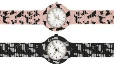 I nuovi Hip Hop Watches con cani e gatti sui cinturini